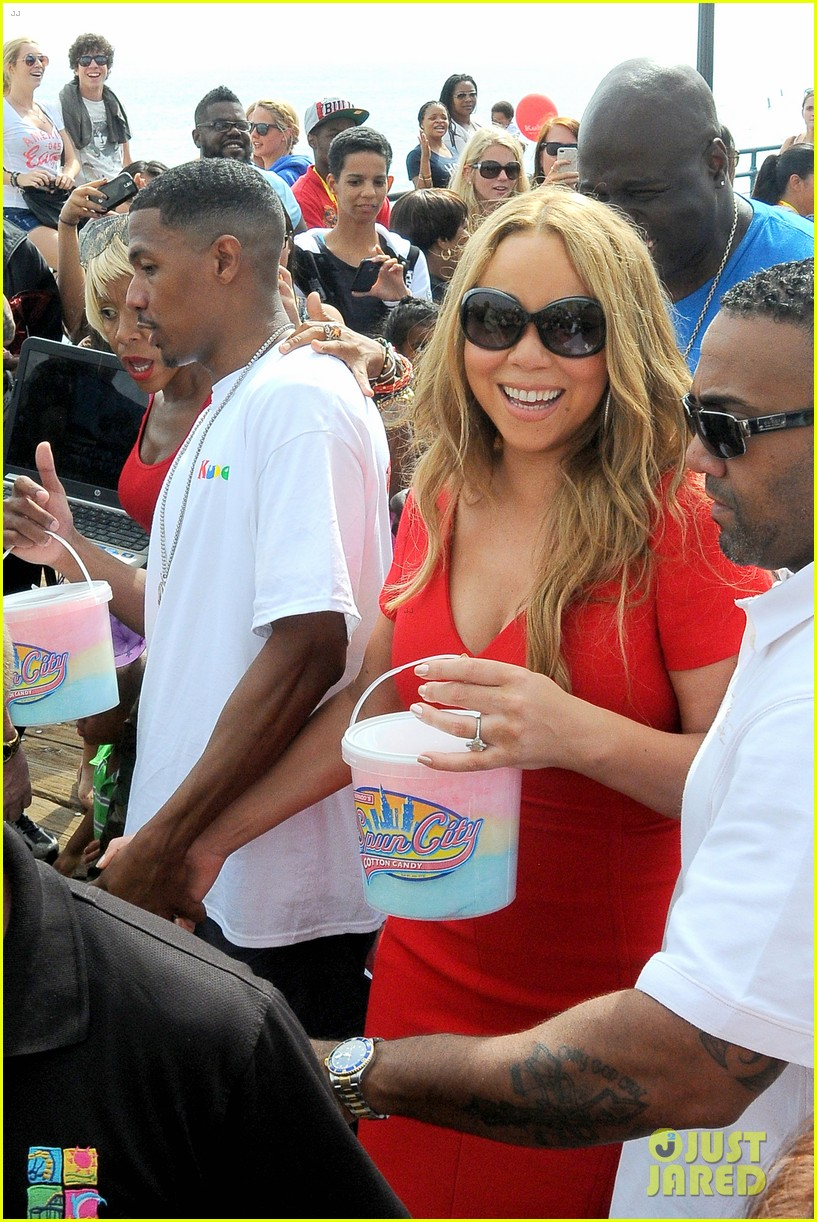 mariah carey nick cannon family day with dem babies 222734176