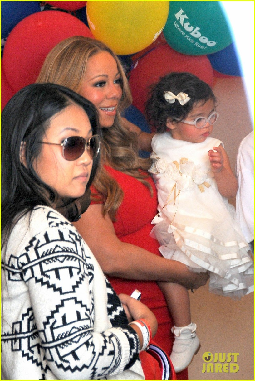 mariah carey nick cannon family day with dem babies 232734177