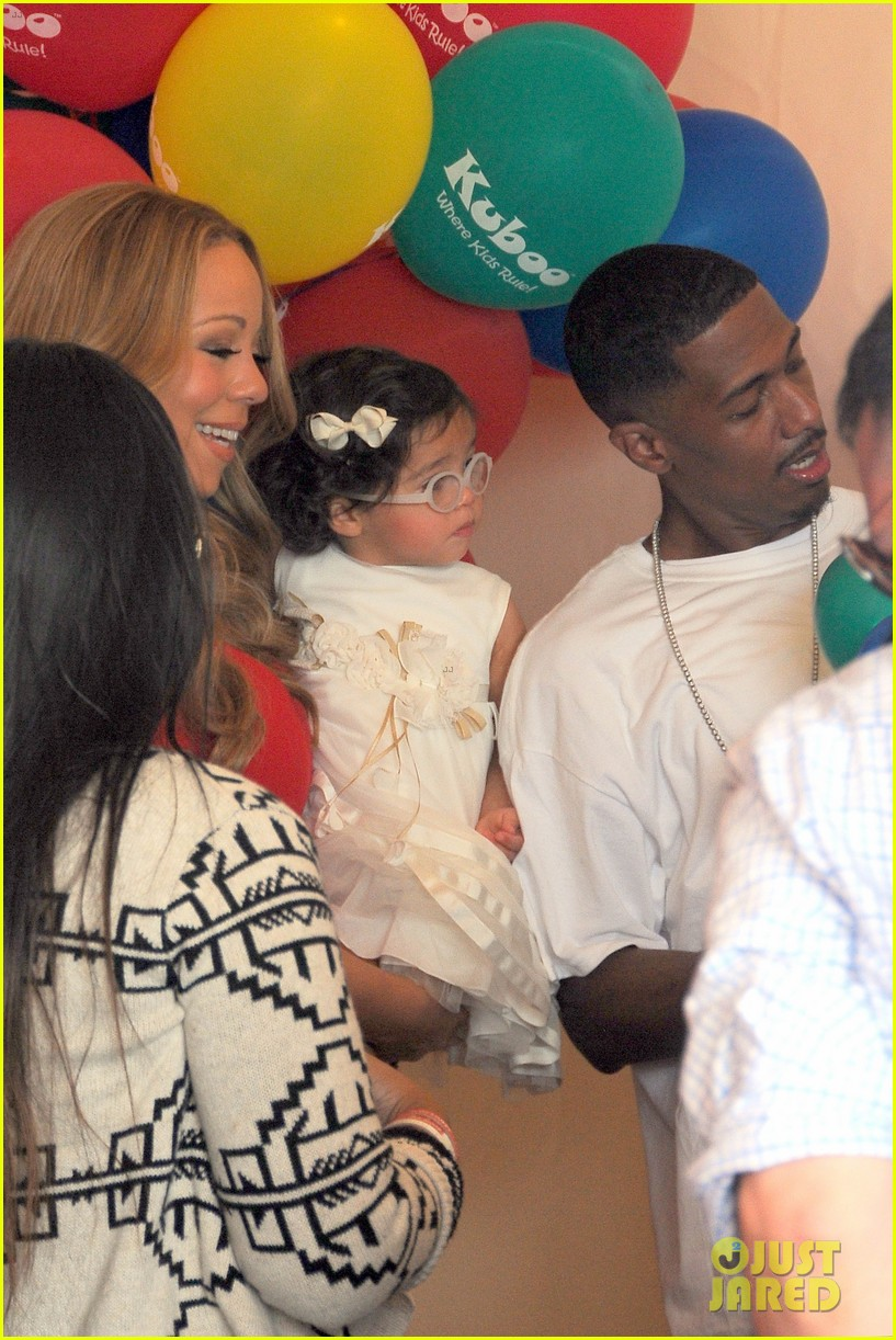 mariah carey nick cannon family day with dem babies 242734178