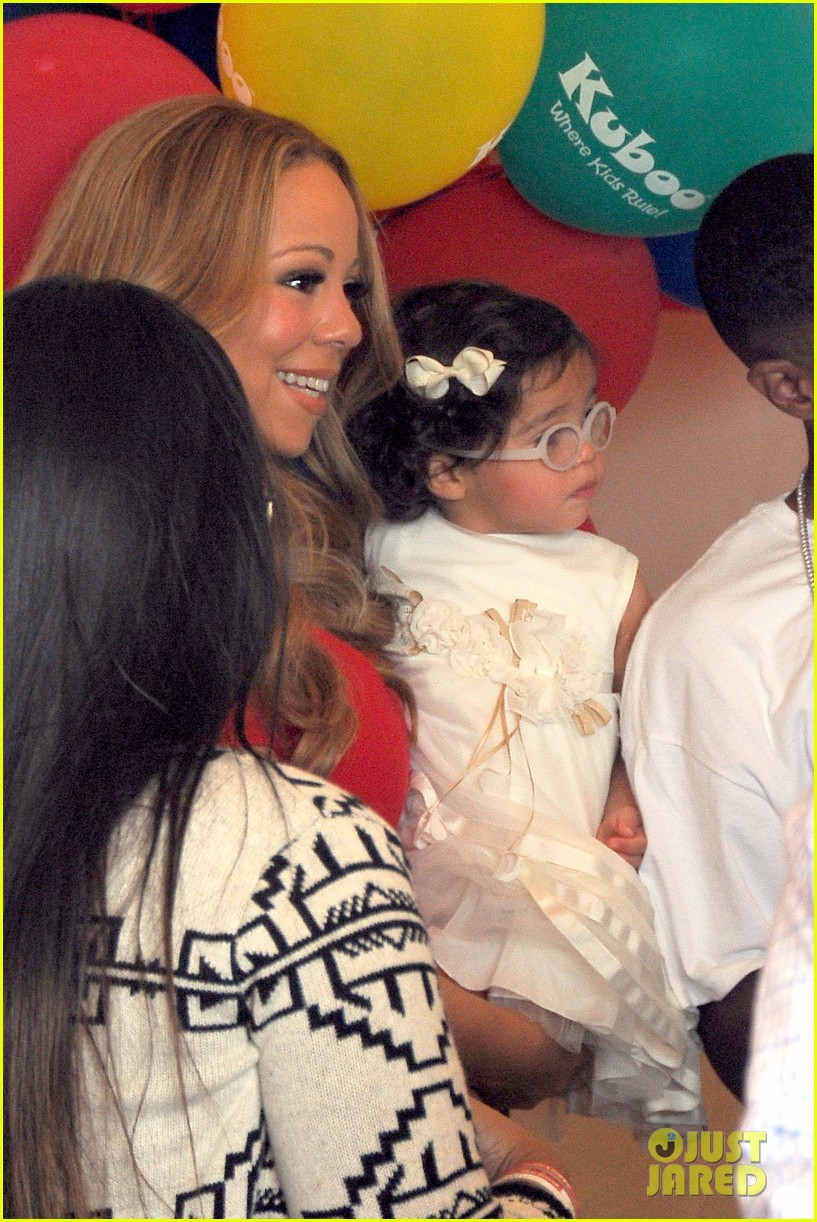 mariah carey nick cannon family day with dem babies 262734180