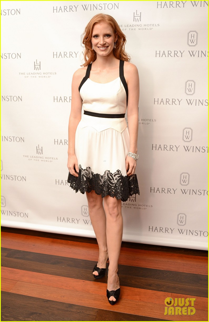 jessica chastain harry winston dinner honoree 012743246