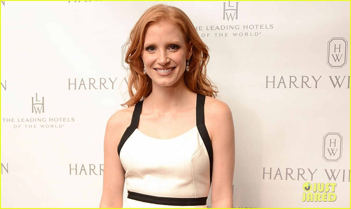 jessica chastain harry winston dinner honoree 04