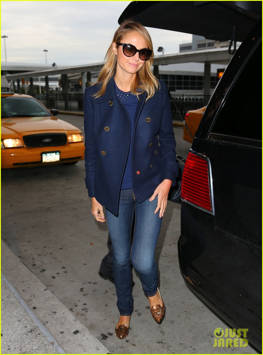 george clooney stacy keibler new york city duo 052735042