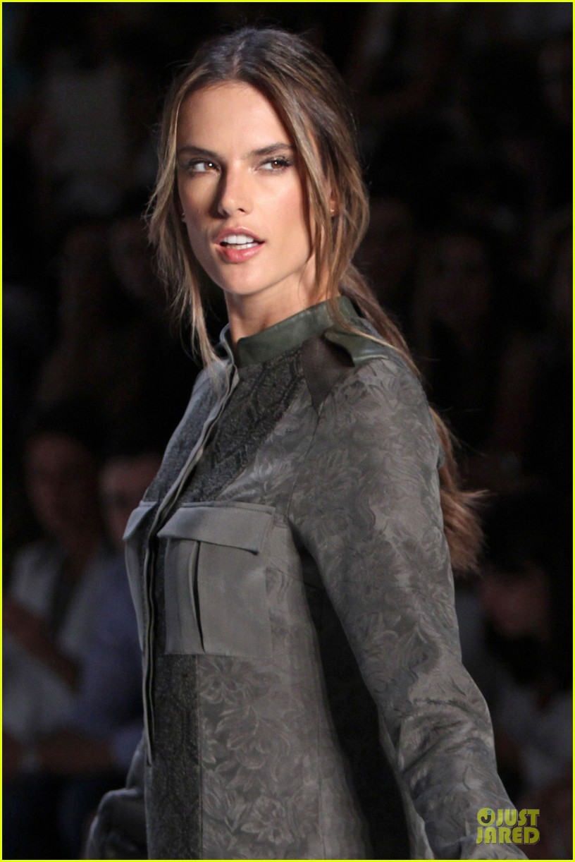 alessandra ambrosio colcci spring fall 2013 collection model 30