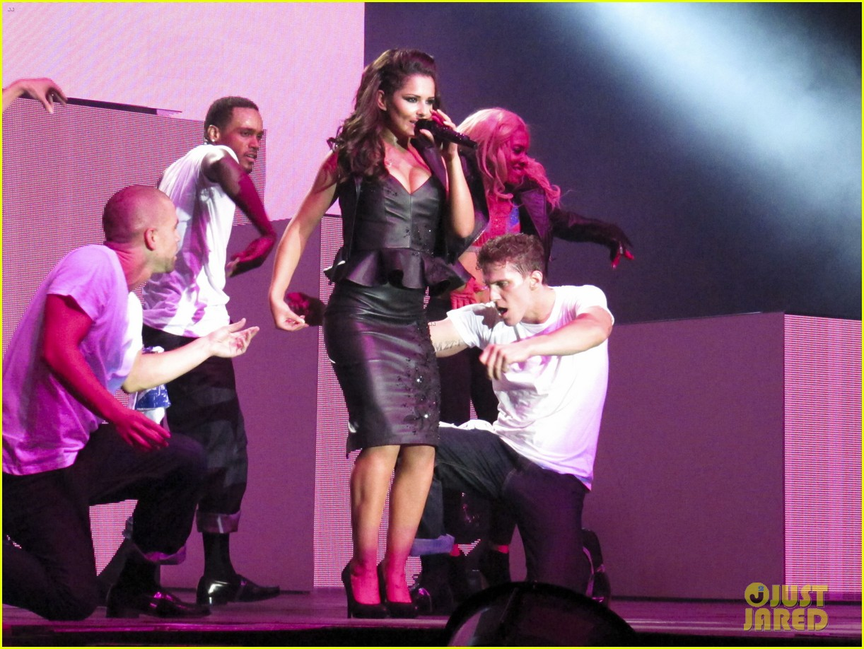 cheryl cole a million lights arena tour opening night 022732899