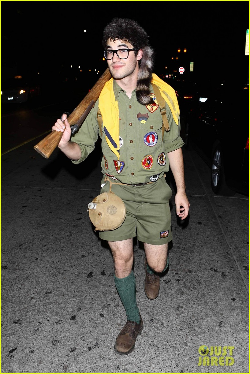 chris colfer darren criss matthew morrison halloween party 182747796