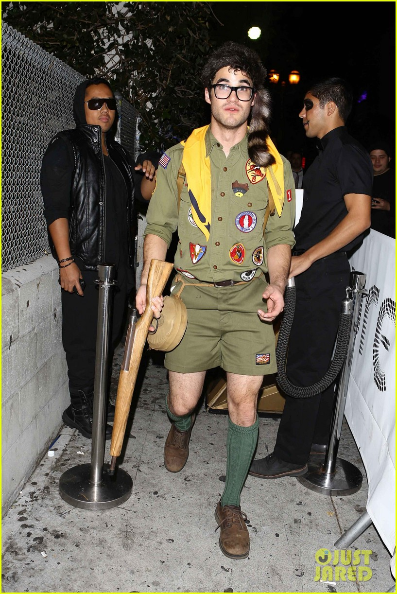 chris colfer darren criss matthew morrison halloween party 192747797