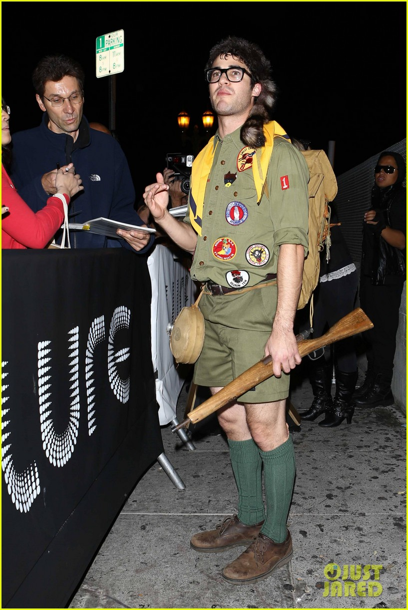 chris colfer darren criss matthew morrison halloween party 222747800