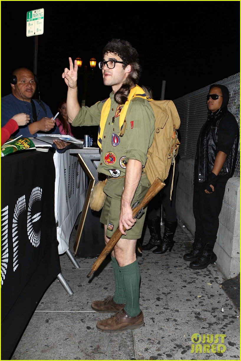 chris colfer darren criss matthew morrison halloween party 242747802