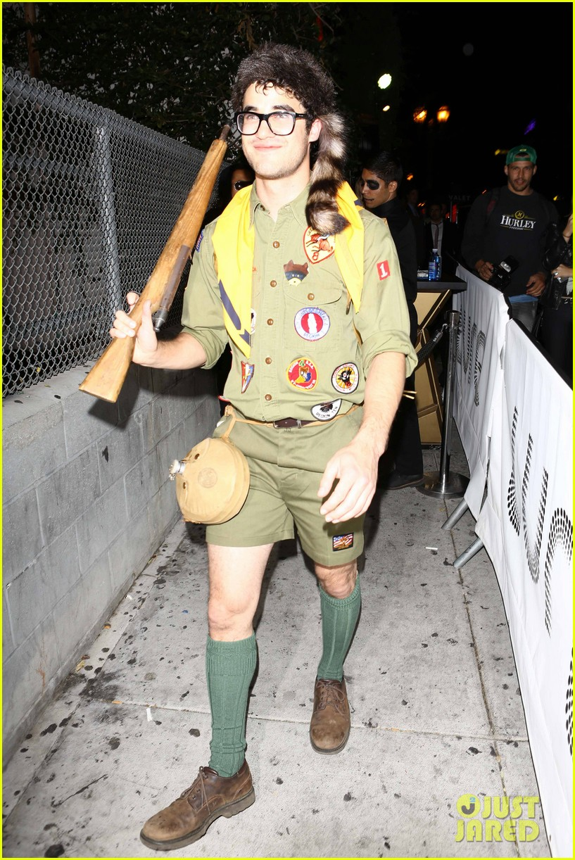 chris colfer darren criss matthew morrison halloween party 262747804