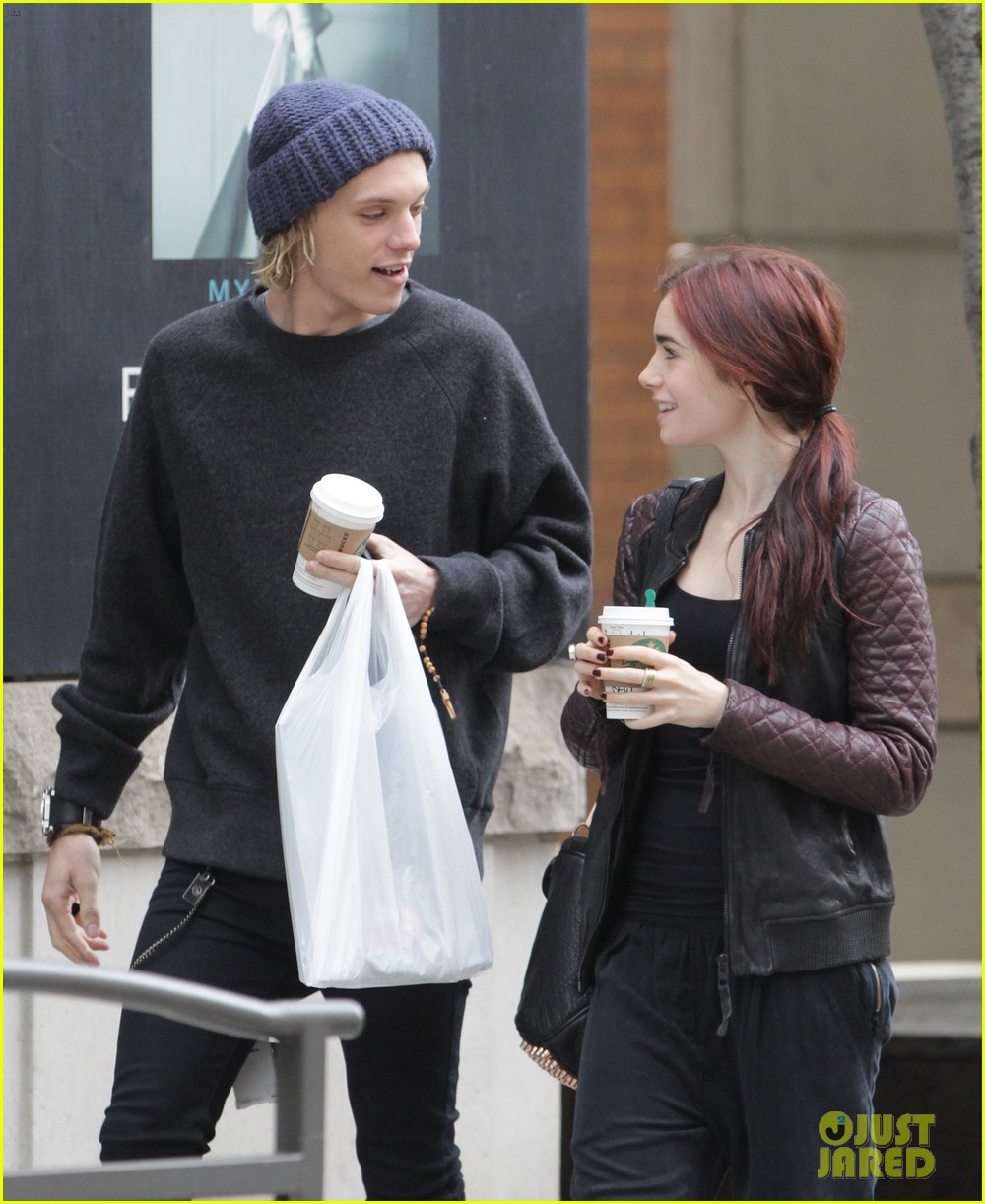 lily collins morning coffee jamie campbell bower 042742633