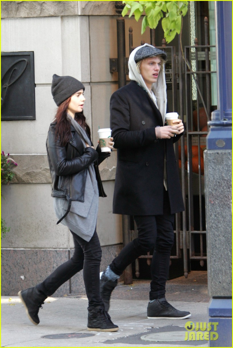 lily collins jamie campbell bower toronto twosome 012734979