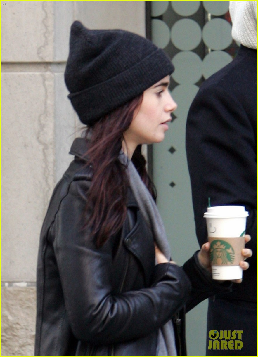 lily collins jamie campbell bower toronto twosome 022734980