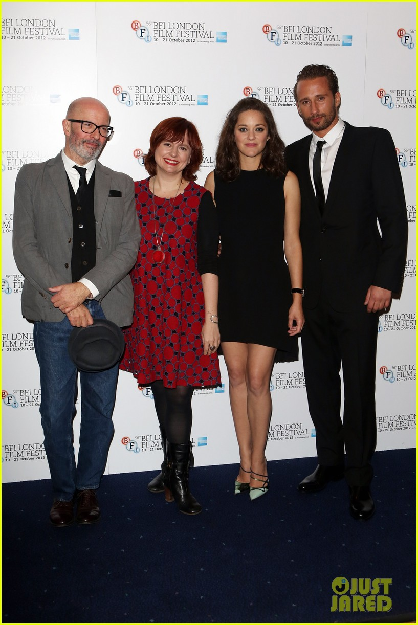 marion cotillard rust and bone london premiere 032737575