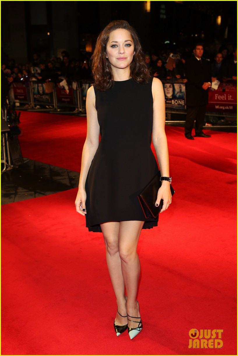 marion cotillard rust and bone london premiere 062737578
