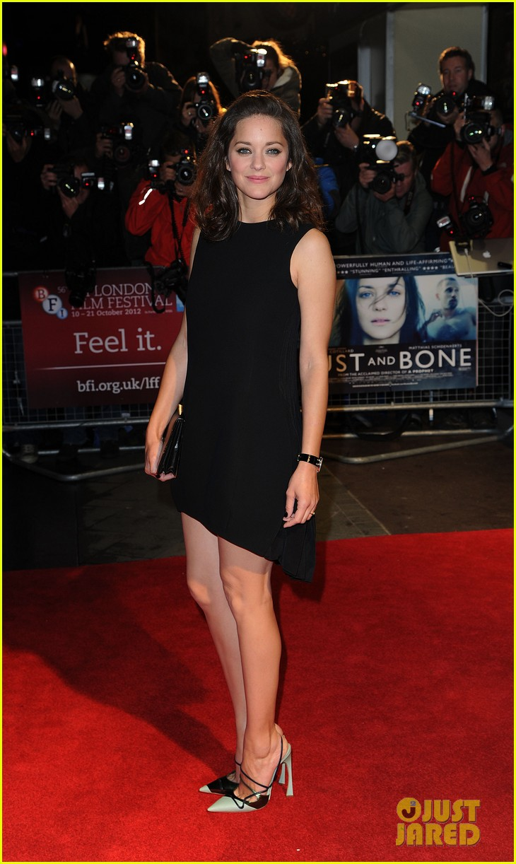 marion cotillard rust and bone london premiere 092737581