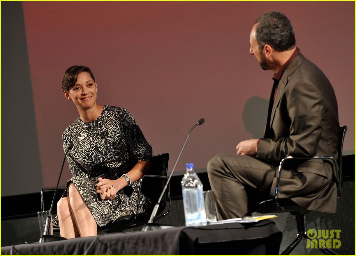 marion cotillard london film festival screen talk 042737990