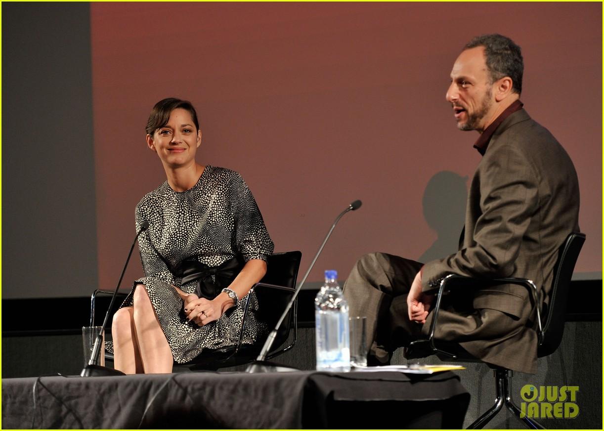 marion cotillard london film festival screen talk 072737993