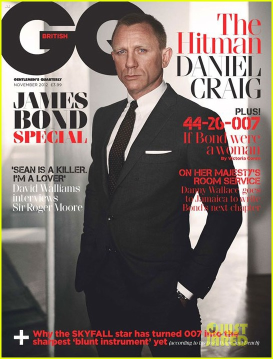 daniel craig covers british gq james bond special issue 012731692