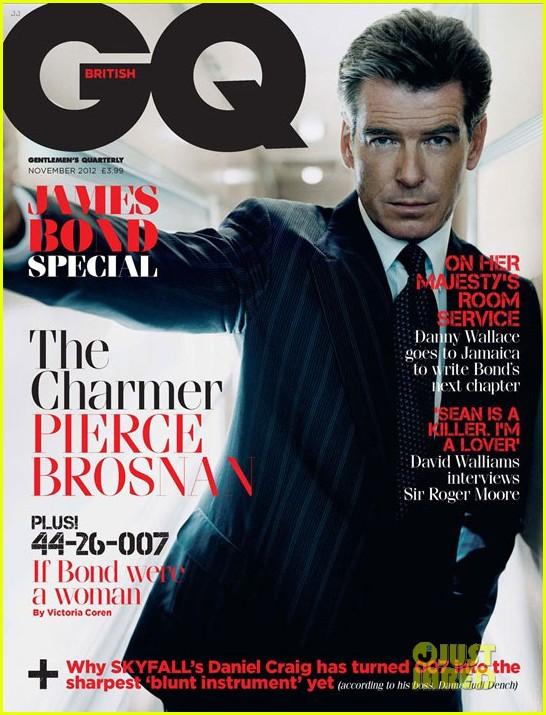 daniel craig covers british gq james bond special issue 032731694