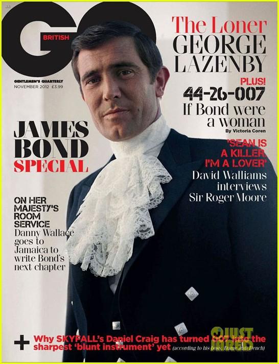 daniel craig covers british gq james bond special issue 052731696