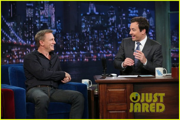 daniel craig late night with jimmy fallon visit 032733260