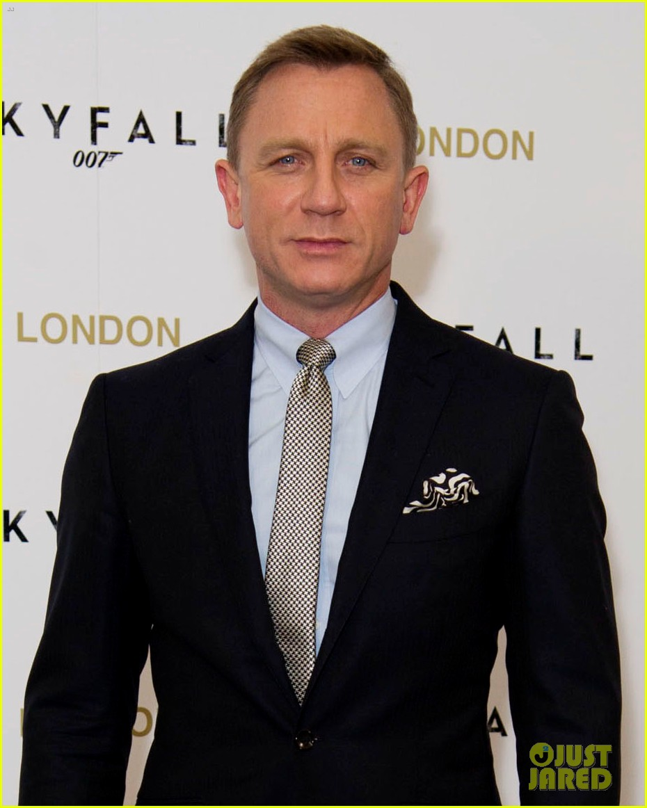 daniel craig skyfall london photo call 02