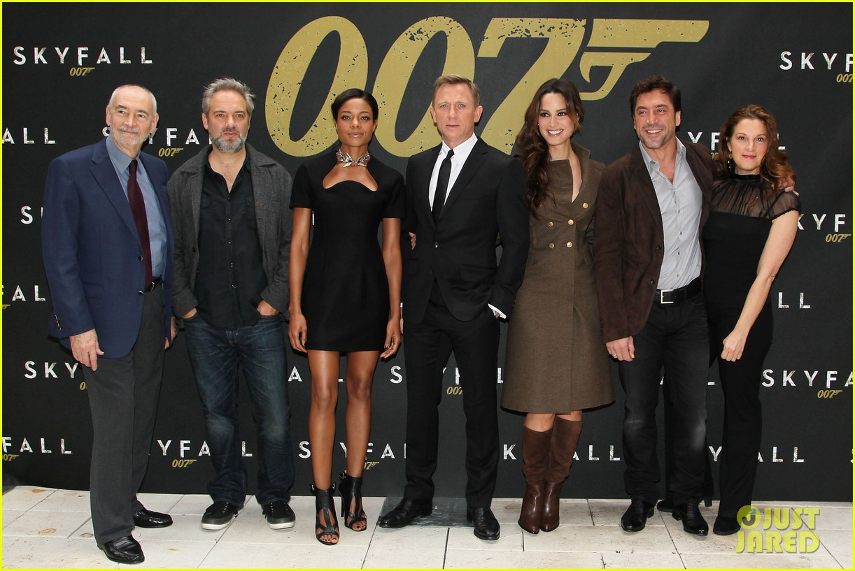 daniel craig skyfall photo call 092738559