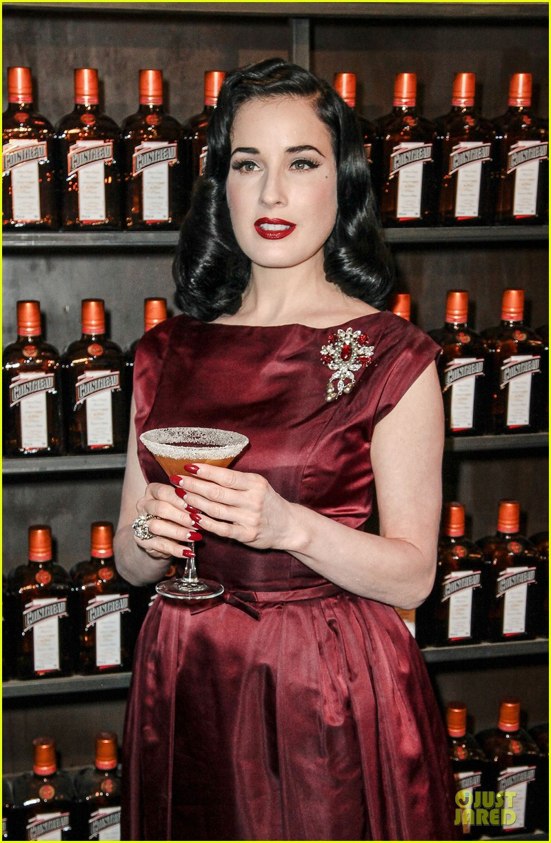 dita von teese cocktail debut in new york 022739607