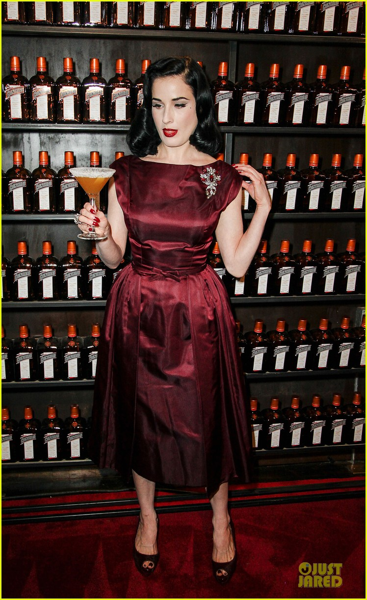 dita von teese cocktail debut in new york 062739611