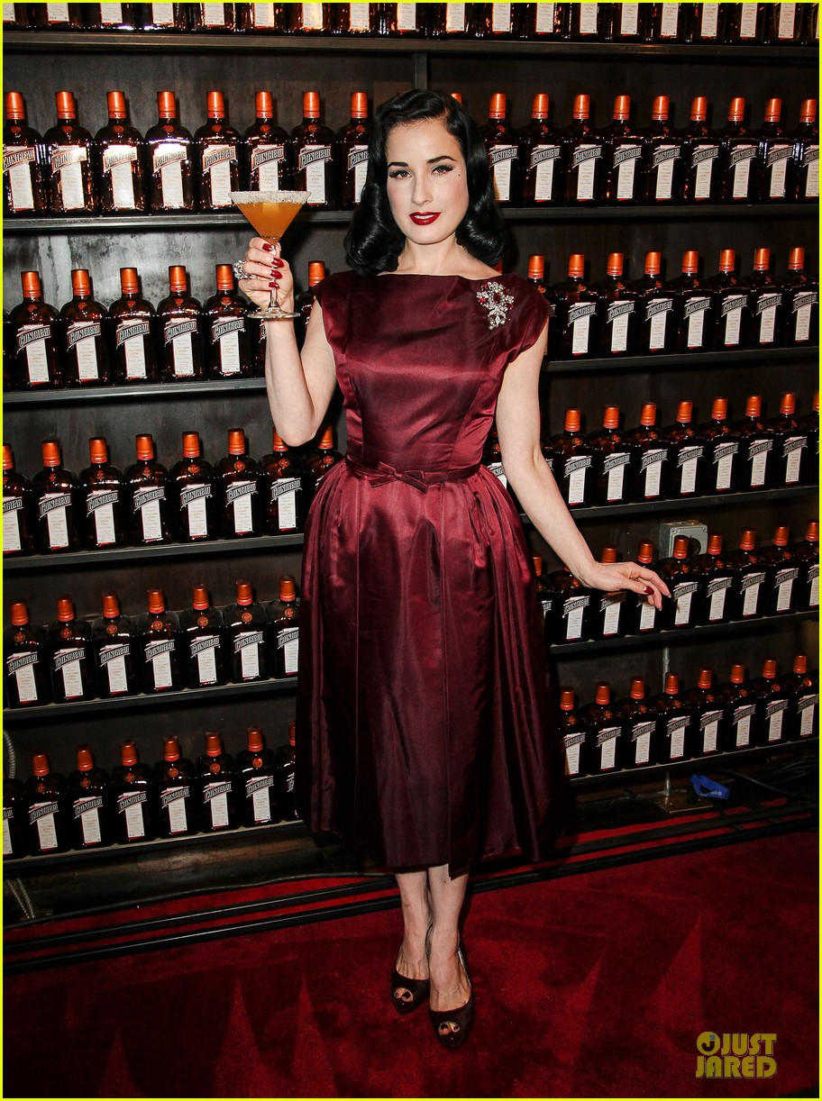 dita von teese cocktail debut in new york 112739616