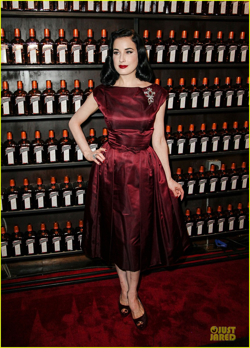 dita von teese cocktail debut in new york 142739619
