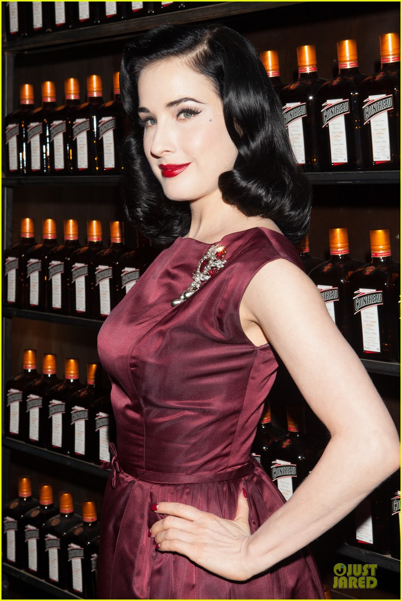 dita von teese cocktail debut in new york 162739621