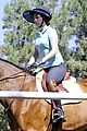 zooey deschanel horseback riding class 08