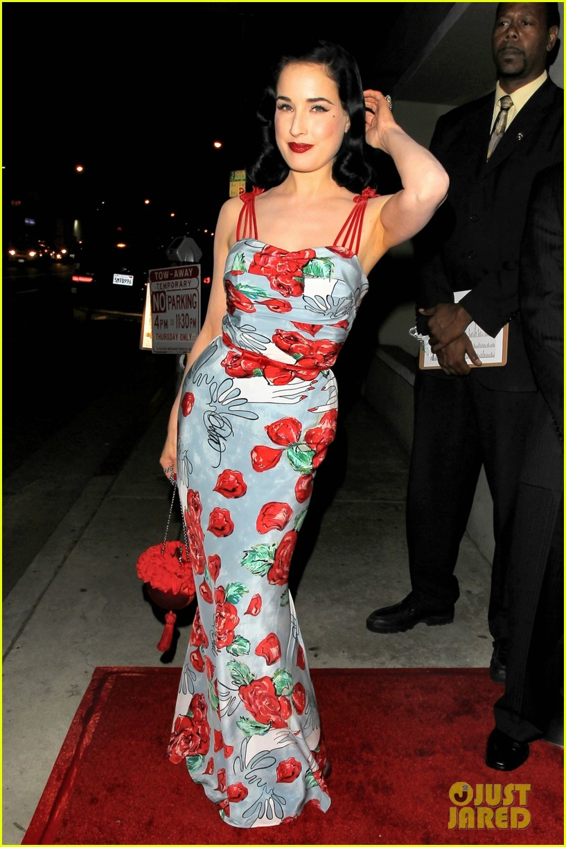 dita von teese launches dress collection los angeles 05