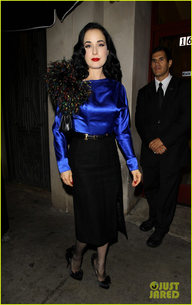dita von teese prince sayers club performance 112744090