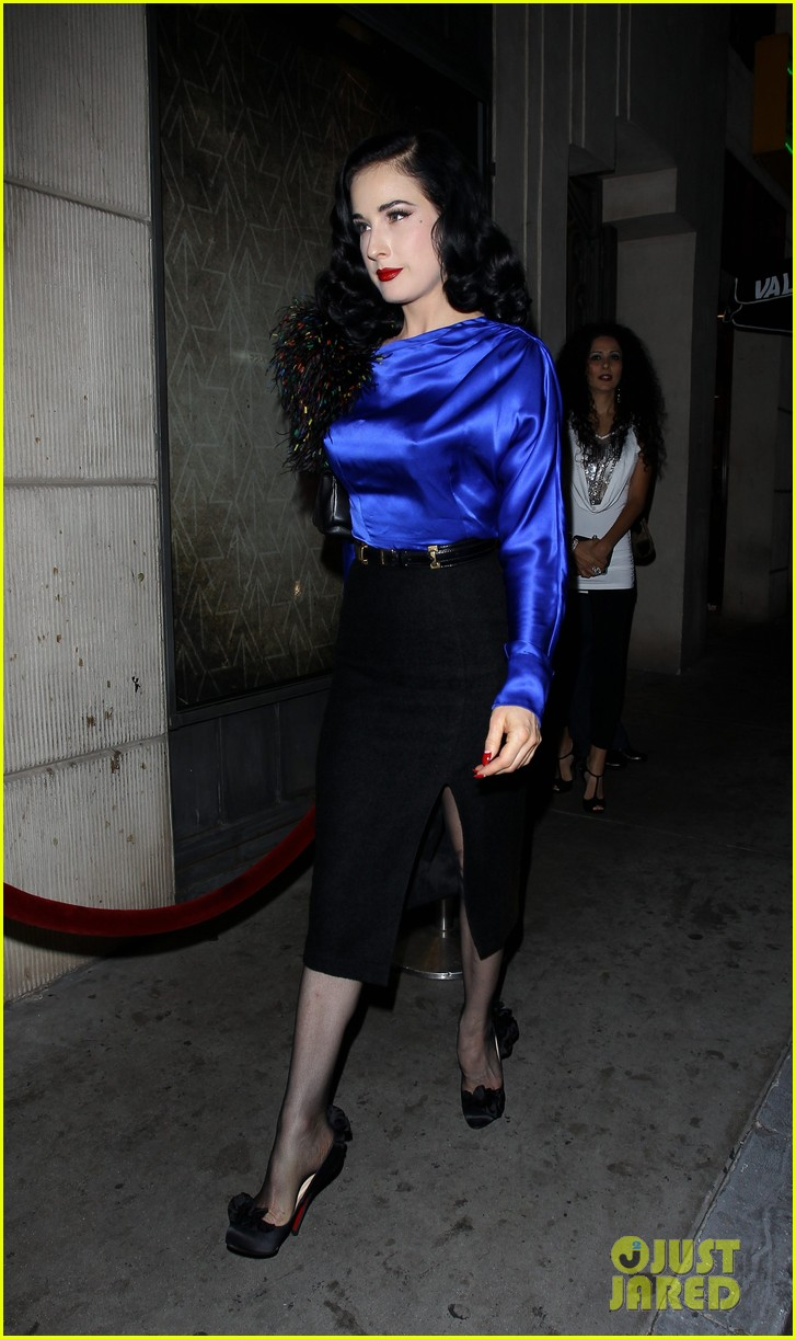 dita von teese prince sayers club performance 122744091