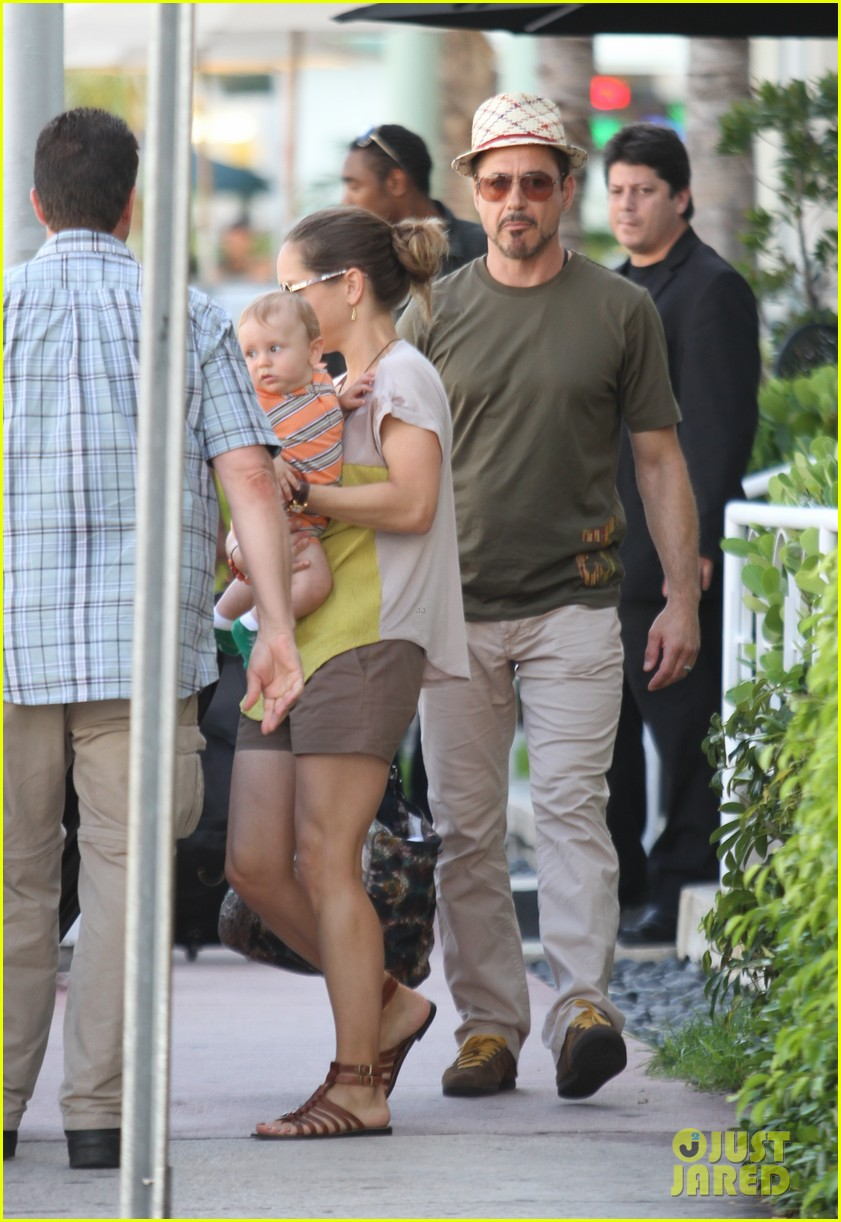 robert downey jr family outing susan and exton 012733543