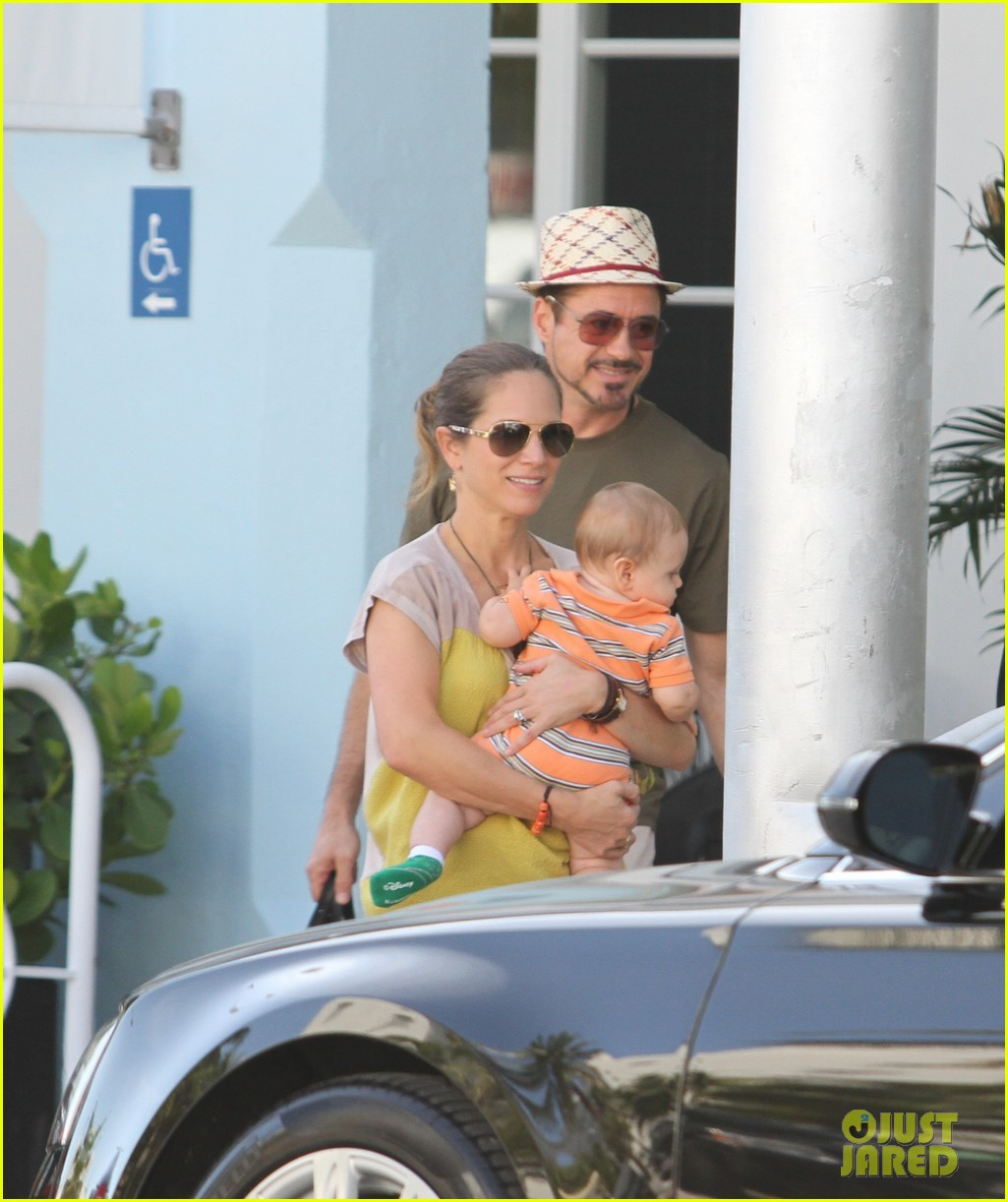 robert downey jr family outing susan and exton 022733544