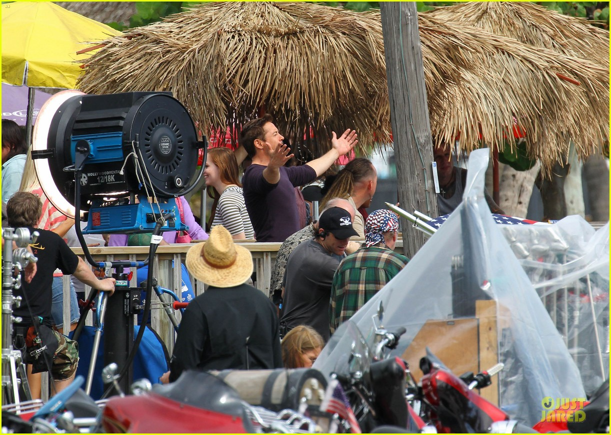 robert downey jr iron man set 07
