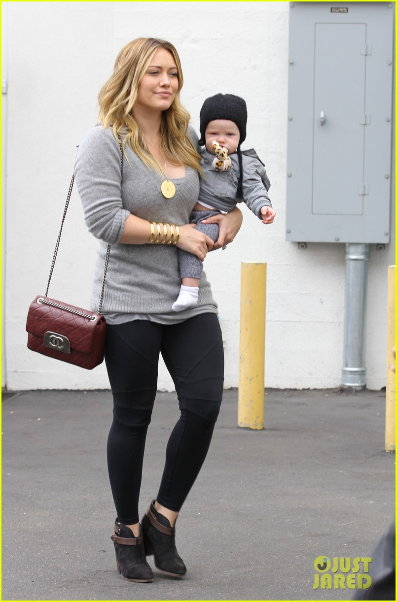 Hilary Duff Happy Seven Month Birthday Luca Photo 2742394 Celebrity Babies Hilary Duff