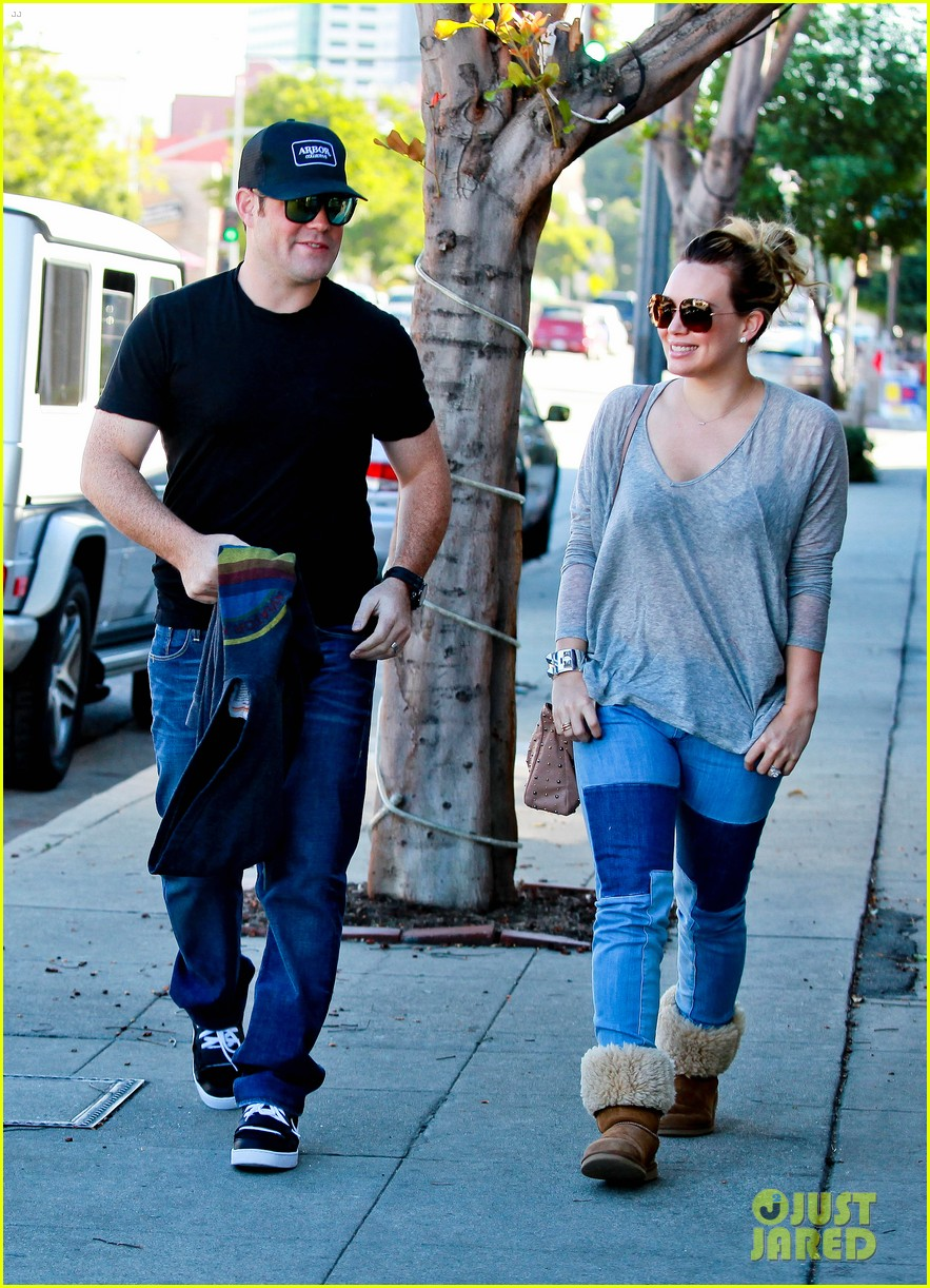 hilary duff mike comrie luca food shopping 012747014