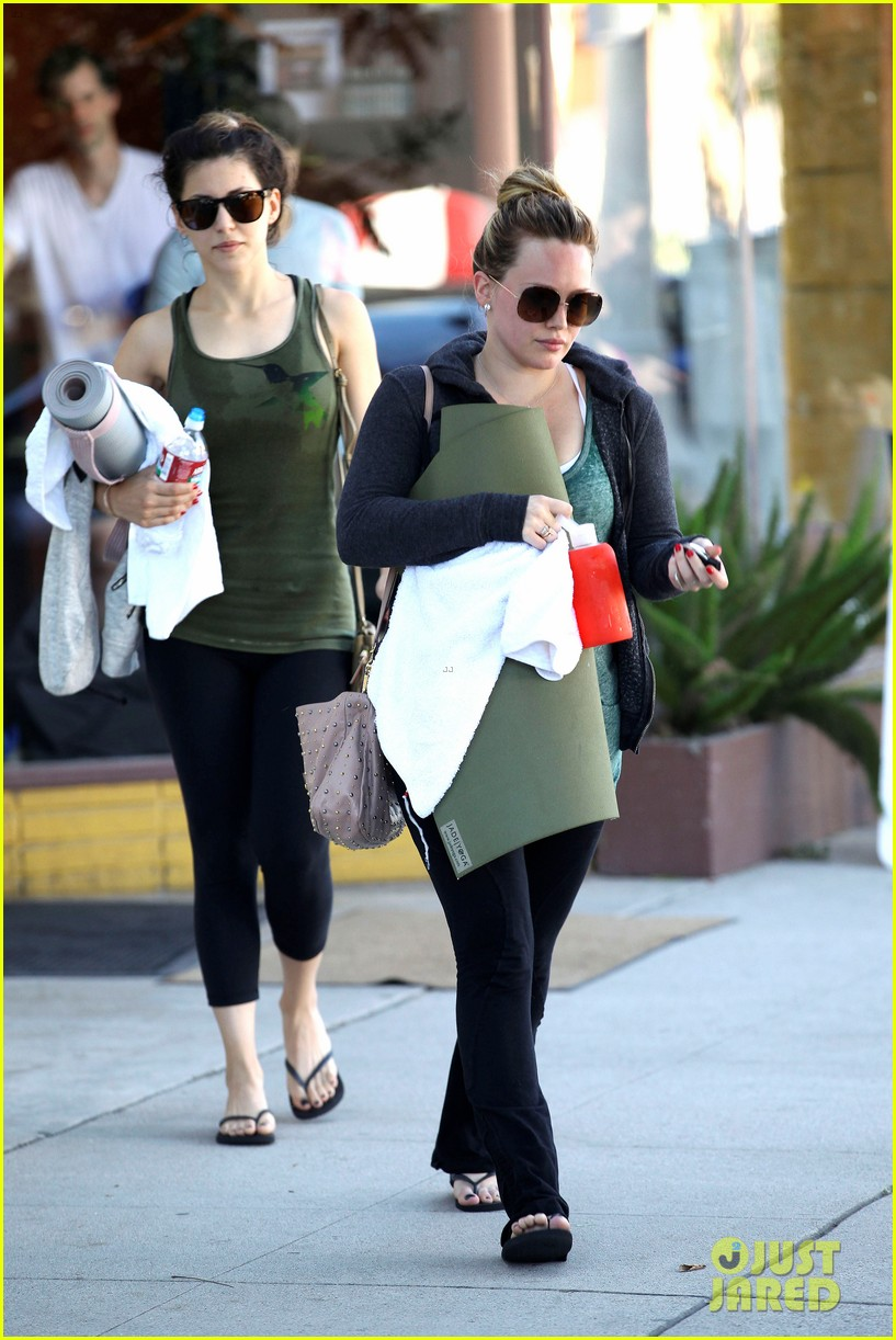 hilary duff mike comrie luca food shopping 092747022