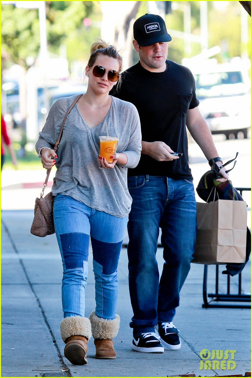 hilary duff mike comrie luca food shopping 192747032
