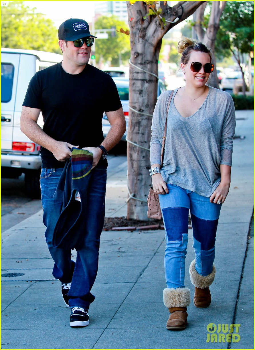 hilary duff mike comrie luca food shopping 242747037