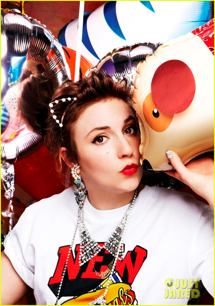 lena dunham covers asos magazine fashion up app 052731301