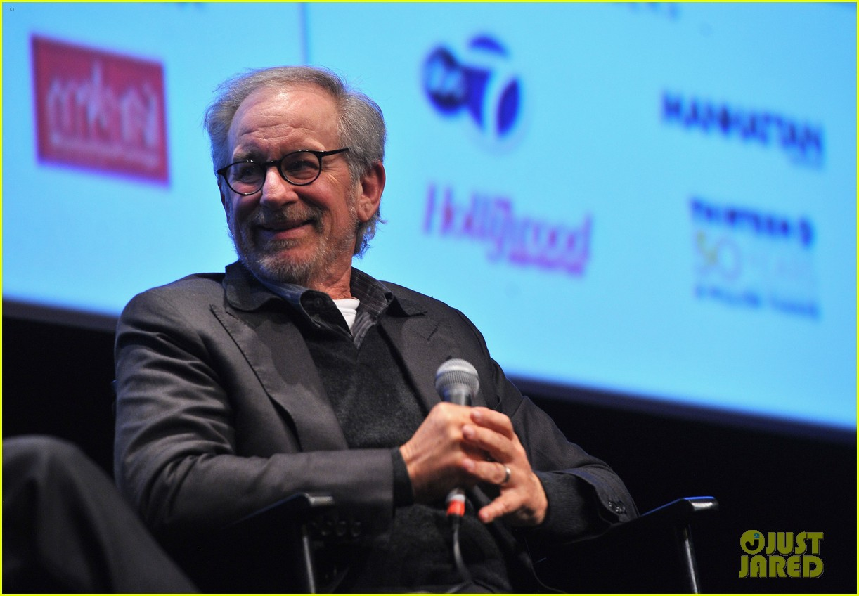 dakota fanning steven spielberg lincoln nyff screening 13