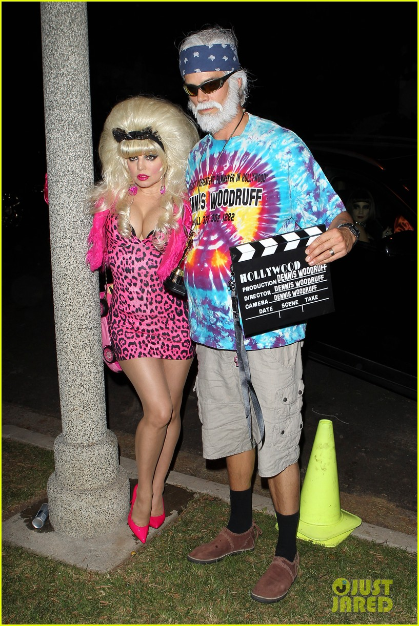 fergie angelyne halloween costume with josh duhamel 032746695