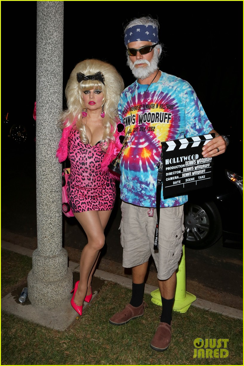 fergie angelyne halloween costume with josh duhamel 162746708