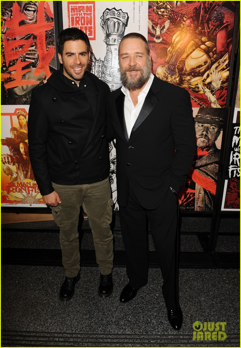 russell crowe iron fists screening 042747442